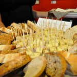 We offered a delicious assortment of beautiful cheeses, thanks to our sponsors!