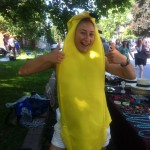 Ingrid is bananas for Fair Trade!