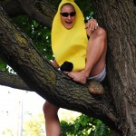 FTOE's Ingrid made waves with her tree-climbing banana!
