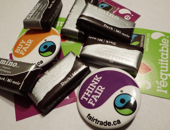 Fair Trade Ottawa Équitable's Halloween shopping guide featuring Camino minis!