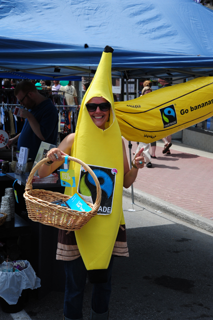 You can never have too many (Fair Trade) bananas!